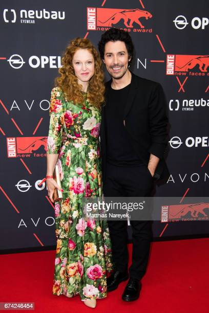 Petra Bernhardt and Boris Entrup attend the New Faces Award Film at Haus Ungarn on April 27 2017 in Berlin Germany