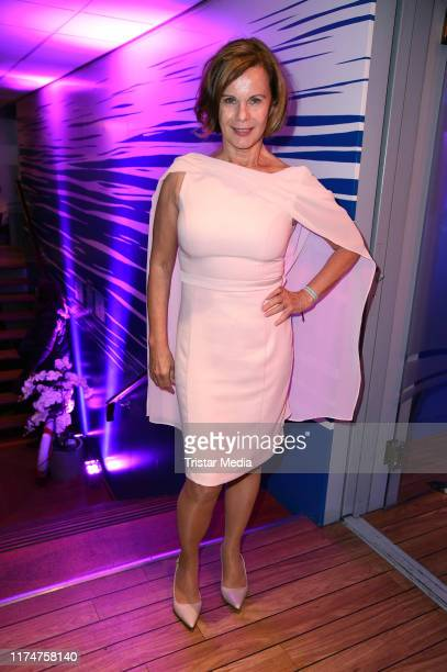 Petra Blossey attends the world premiere of the movie Ich war noch niemals in New York at Cinedom on October 9 2019 in Cologne Germany