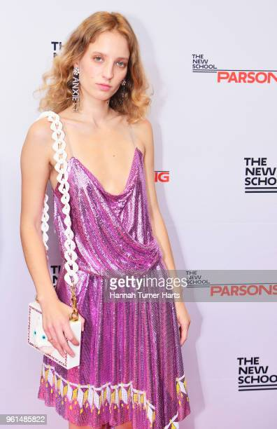 Petra Collins attends the 70th Annual Parsons Benefit at Pier Sixty at Chelsea Piers on May 21 2018 in New York City