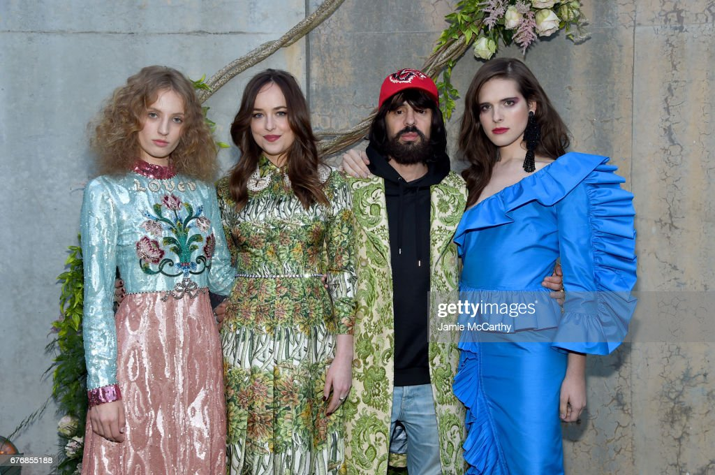 Gucci Bloom, Fragrance Launch Event at MoMA PS1 in New York : Nachrichtenfoto