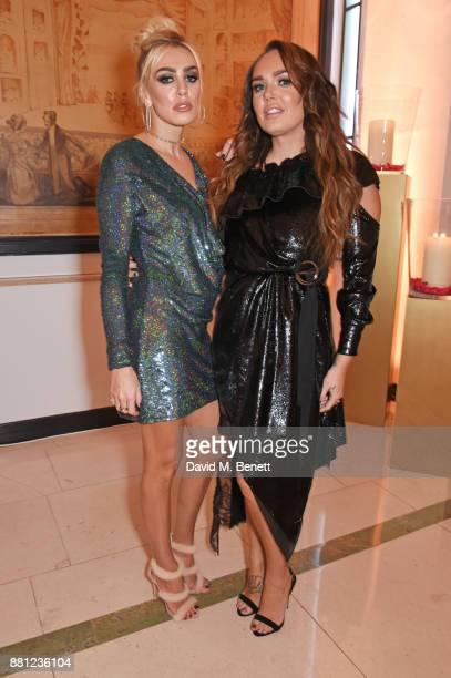 Petra Ecclestone and Tamara Ecclestone attend the Lady Garden Gala in aid of Silent No More Gynaecological Cancer Fund and Cancer Research UK at...