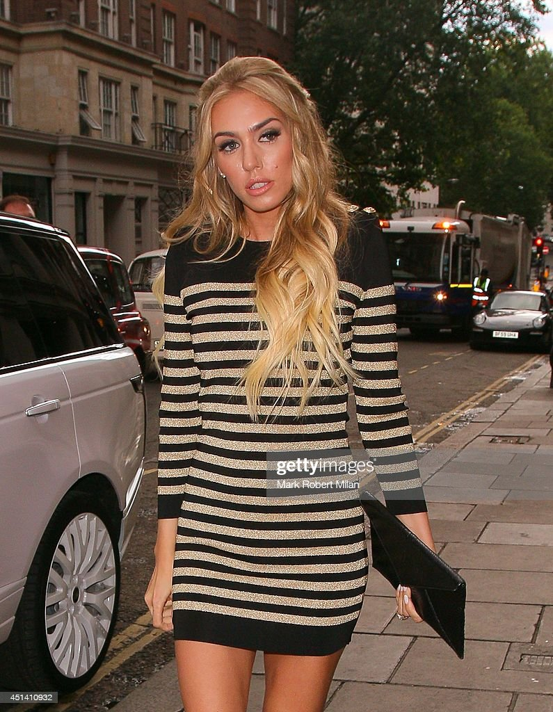 Petra Ecclestone at Nobu Berkeley to celebrate Tamara Ecclestone's birthday on June 28, 2014 in London, England.