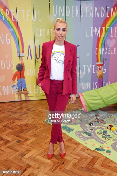 Petra Ecclestone attends the launch of Petra's Place, the first UK early intervention centre for young children with autism related conditions,...