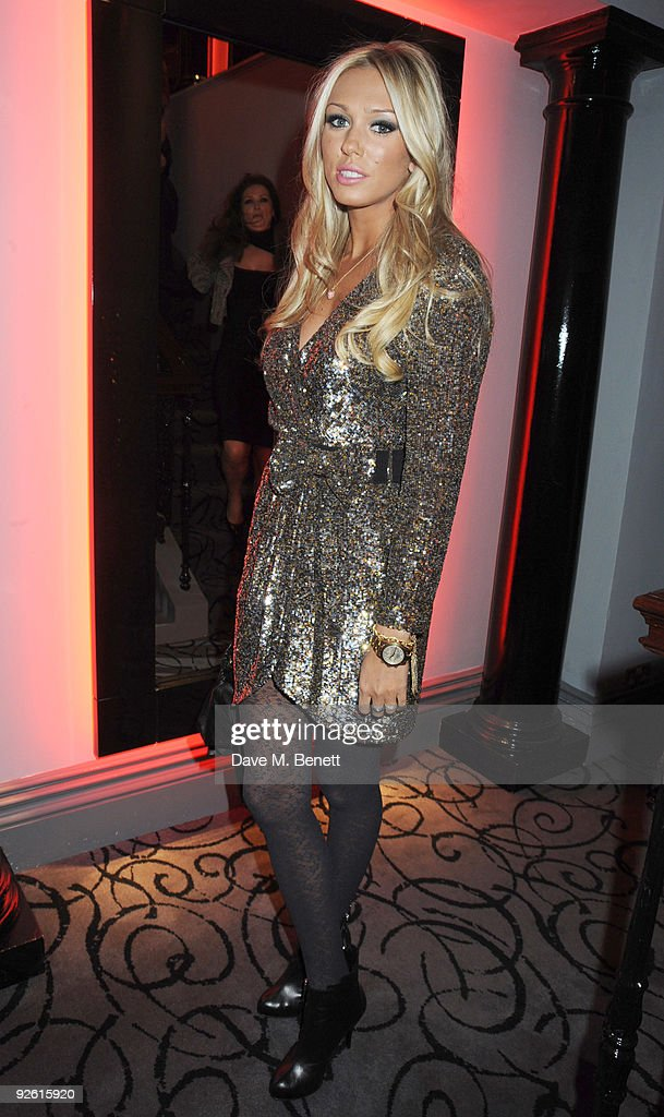 Petra Ecclestone attends the opening party of The Red Room, on November 2, 2009 in London, England.