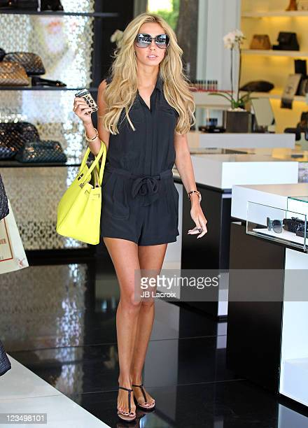 Petra Ecclestone is seen shopping at Chanel on September 3, 2011 in Beverly Hills, California.