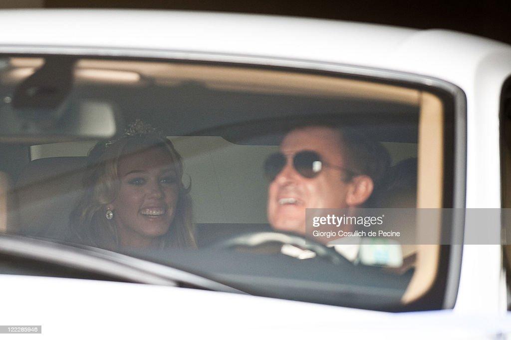 Petra Ecclestone And James Stunt Wedding Day : News Photo