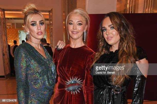 Petra Ecclestone Tamara Beckwith and Tamara Ecclestone attend the Lady Garden Gala in aid of Silent No More Gynaecological Cancer Fund and Cancer...