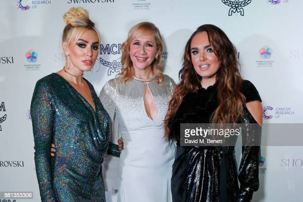 Petra Ecclestone Tania Bryer and Tamara Ecclestone attend the Lady Garden Gala in aid of Silent No More Gynaecological Cancer Fund and Cancer...