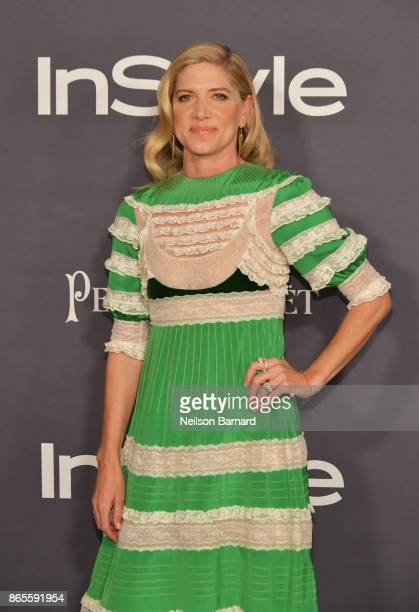 Petra Flannery attends 3rd Annual InStyle Awards at The Getty Center on October 23 2017 in Los Angeles California