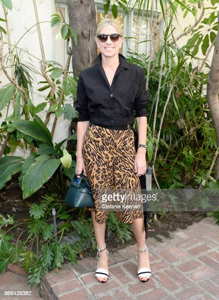Petra Flannery attends CFDA/Vogue Fashion Fund Show and Tea at Chateau Marmont at Chateau Marmont on October 25 2017 in Los Angeles California