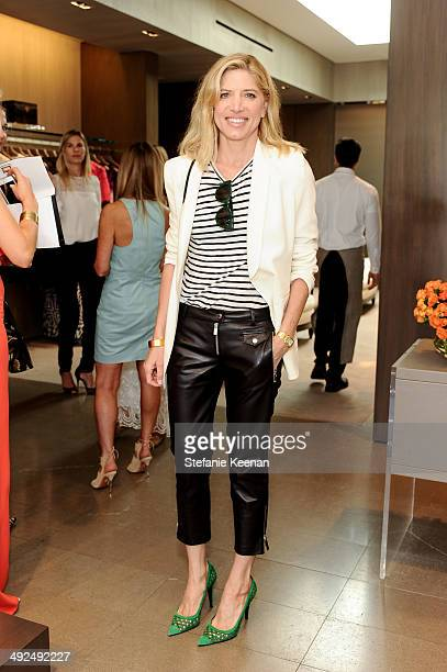 Petra Flannery attends Monique Lhuillier Pre Fall Lunch on May 20 2014 in Los Angeles California