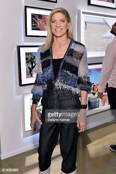 Petra Flannery attends PHOTO16 presented by Milk Studios Auction of Photography Works to Raise Funds for The AIDS Monument in West Hollywood at Milk...