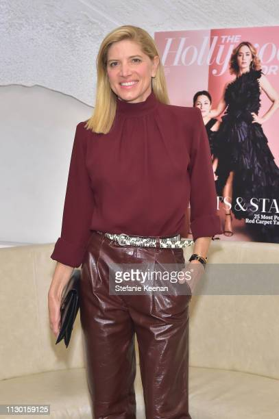 Petra Flannery attends The Hollywood Reporter and Jimmy Choo Power Stylists Dinner at Avra Beverly Hills Estiatorio on March 12 2019 in Beverly Hills...