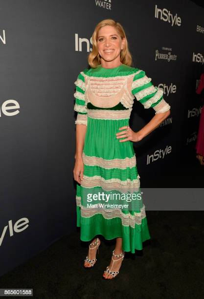 Petra Flannery attends the Third Annual InStyle Awards presented by InStyle at The Getty Center on October 23 2017 in Los Angeles California