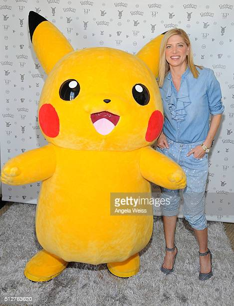 Petra Flannery attends Tracy Paul Co presents Pokemon Afternoon Soiree at Sunset Tower on February 27 2016 in West Hollywood California