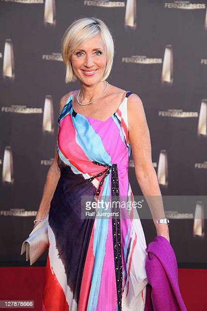 Petra Gerster attends the German TV Award 2011 at Coloneum on October 2, 2011 in Cologne, Germany.