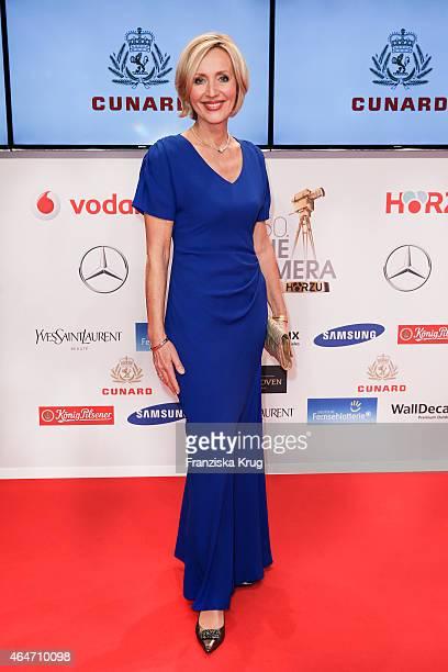 Petra Gerster attends the Goldene Kamera 2015 on February 27 2015 in Hamburg Germany