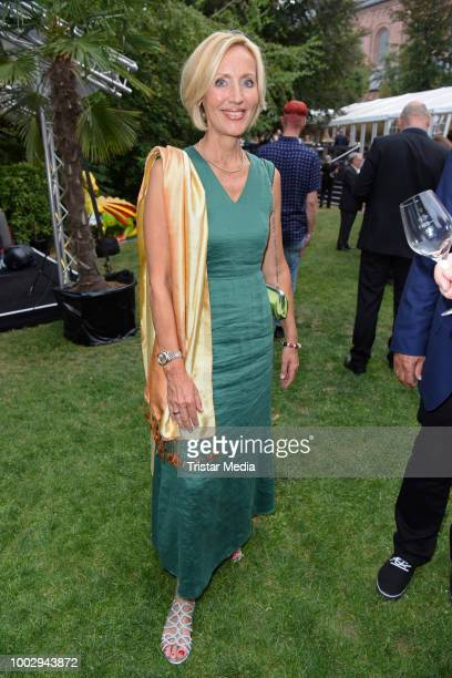 Petra Gerster attends the Nibelungen Festival Opening Night and premiere of 'Siegfrieds Erben' at Domplatz on July 20 2018 in Worms Germany