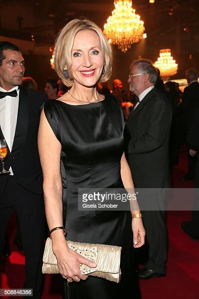Petra Gerster during the Goldene Kamera 2016 reception on February 6 2016 in Hamburg Germany