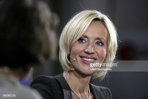Petra GERSTER, German journalist and television presenter.