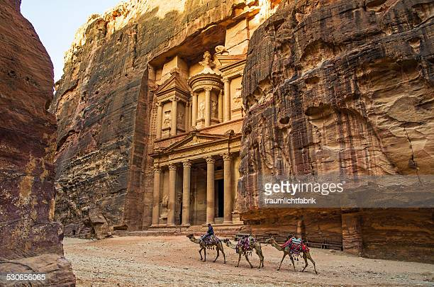 Petra in the morning