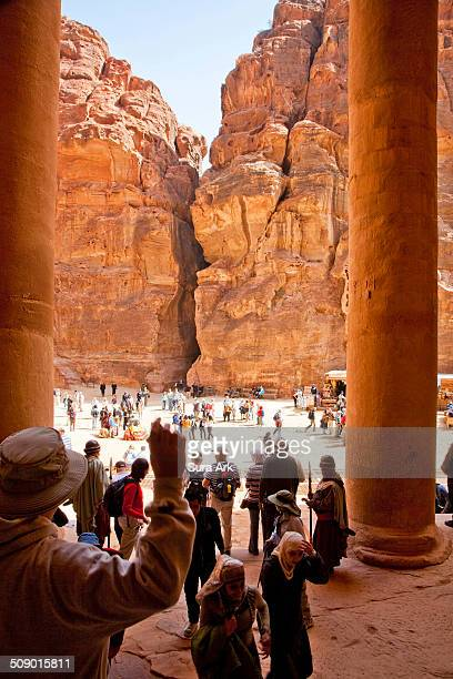 Petra is a historical and archaeological city in the southern Jordanian governorate of Ma'an that is famous for its rock-cut architecture and water...