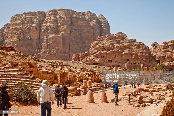 Petra is a historical and archaeological city in the southern Jordanian