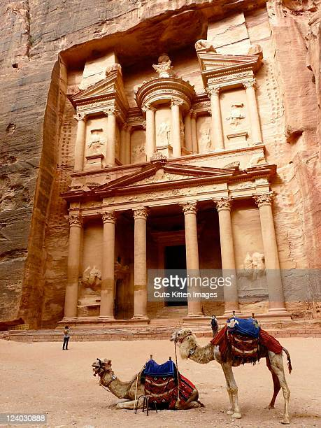 Petra is historical and archaeological city
