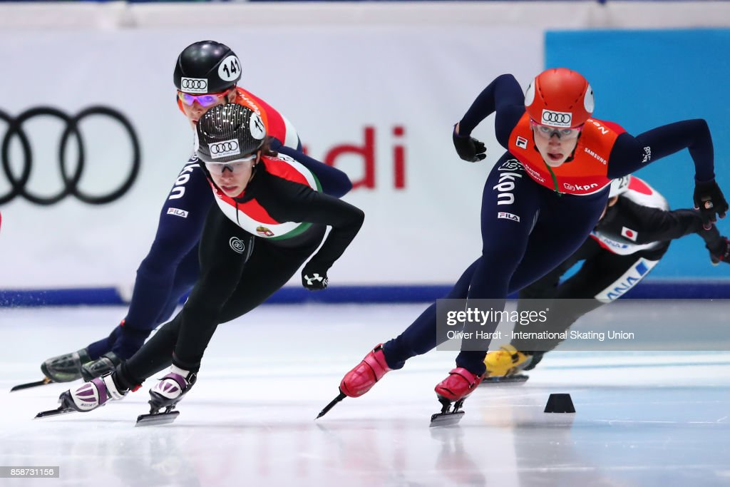 Audi ISU World Cup Short Track Speed Skating - Dordrecht