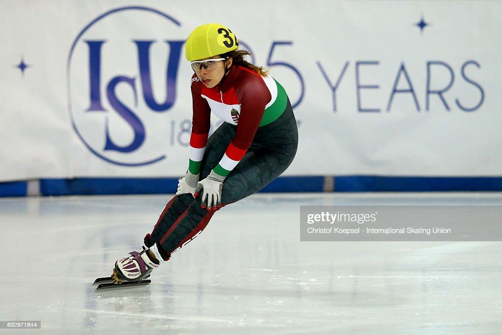 World Junior Short Track Speed Skating Championships - Innsbruck Day 1