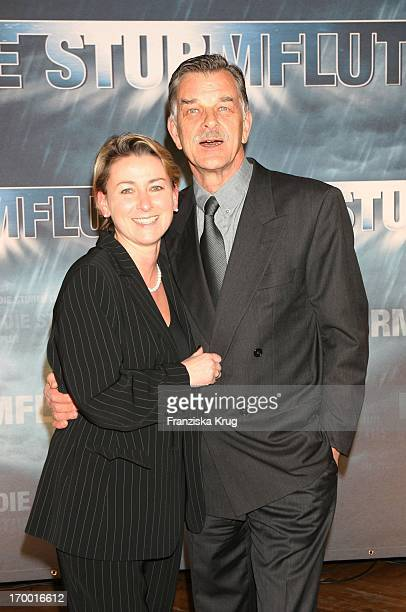 Petra Kaiser and Bernd Stephan at The Premiere Of Rtl twoparter The Flood 'The Curio House in Hamburg 310106