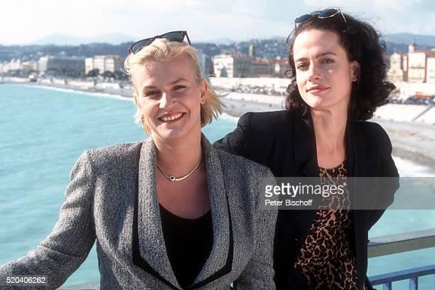 Petra Kleinert Claudia Michelsen ZDFKomödie Zwei vom gleichen Schlag am in Monte Carlo Monaco