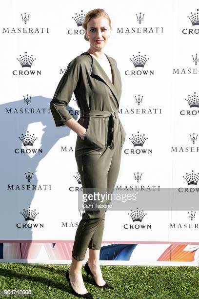 Petra Kvitova arrives ahead of the 2018 Crown IMG Tennis Player at Crown Palladium on January 14 2018 in Melbourne Australia