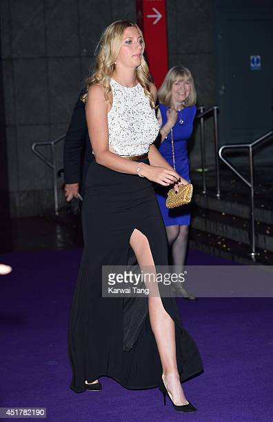 Petra Kvitova attends the Wimbledon Champions Dinner at the Royal Opera House on July 6, 2014 in London, England.