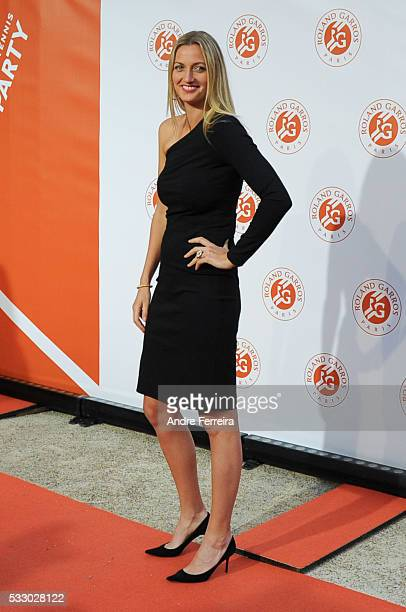 Petra Kvitova during the photocall before the opening party of the French Open 2016 at Le Petit Palais on May 19 in Paris France