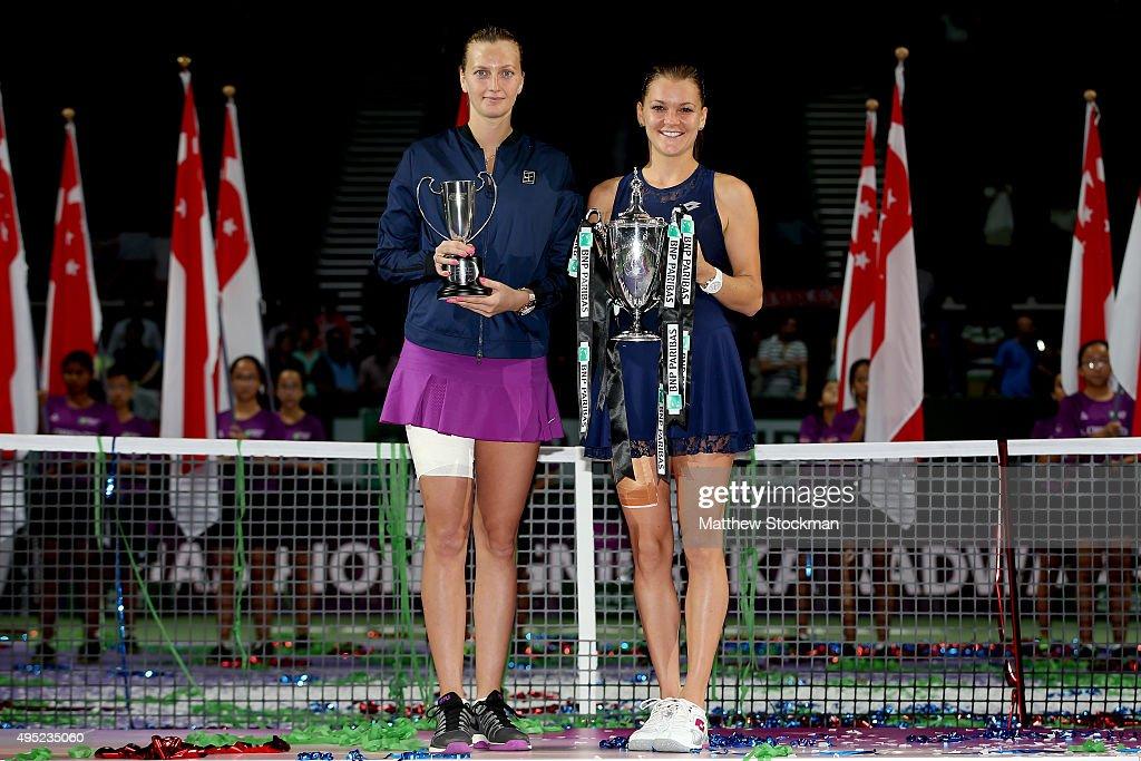 BNP Paribas WTA Finals: Singapore 2015 - Day Eight : News Photo