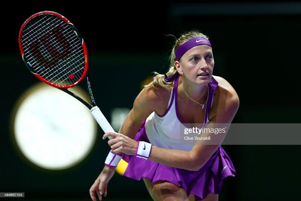 BNP Paribas WTA Finals: Singapore 2015 - Day Four : News Photo