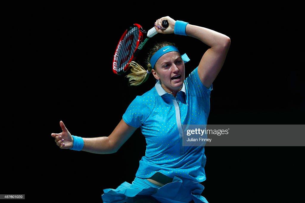 BNP Paribas WTA Finals: Singapore 2014 - Day Two : News Photo