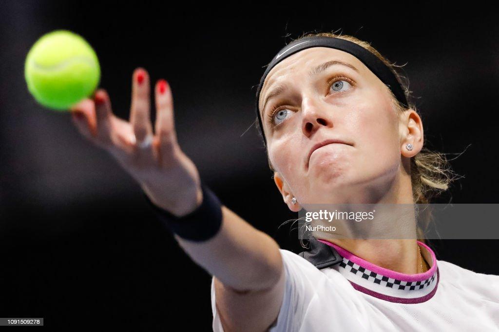 St. Petersburg Ladies Trophy -2019 Tennis Tournament : News Photo