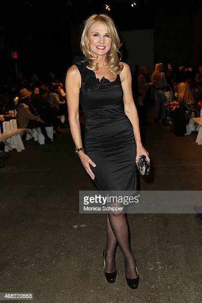 Petra Levin attends the Rolando Santana fashion show during MercedesBenz Fashion Week Fall 2014 at Eyebeam on February 9 2014 in New York City