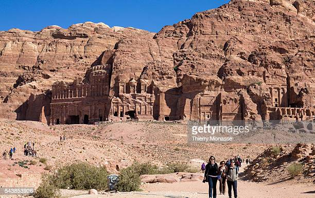 Petra Ma'an Governorate Jordan February 7 2014 Petra is a historical and archaeological city in the southern Jordanian governorate of Ma'an that is...