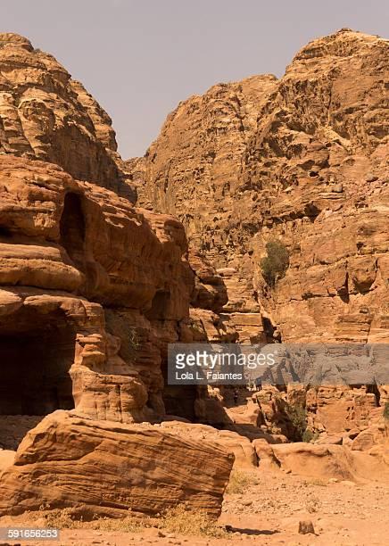 Petra monastery path