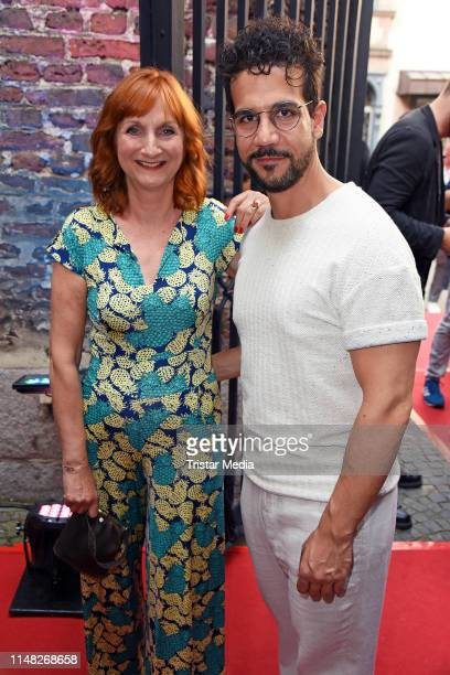 Petra Nadolny and Daniele Rizzo attend the Film und Medienstiftung NRW summer party at Wolkenburg on June 5 2019 in Cologne Germany