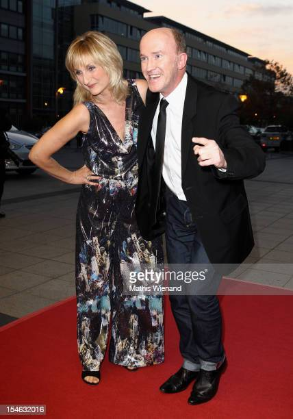 Petra Nadolny and Peter Nottmeier attend the '16 Annual German Comedy Award' on October 23 2012 in Cologne Germany