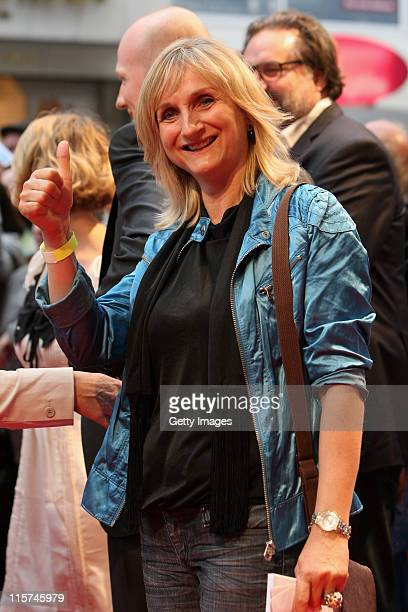 Petra Nadolny attends on the red carpet of the 'Eine Insel Namens Udo' Premiere on June 9 2011 in Essen Germany