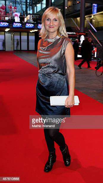 Petra Nadolny attends the 18th Annual German Comedy Awards at Coloneum on October 21 2014 in Cologne Germany The show will be aired on RTL on October...