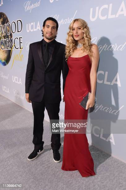 Petra Nemcová and guest attend the UCLA IoES honors Barbra Streisand and Gisele Bundchen at the 2019 Hollywood for Science Gala on February 21 2019...