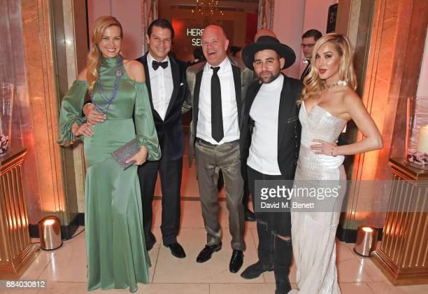 Petra Nemcova Alejandro Grimaldi Michael Novogratz Parson James and Brianna Leigh attend the BOVET 1822 Brilliant is Beautiful Gala benefitting...
