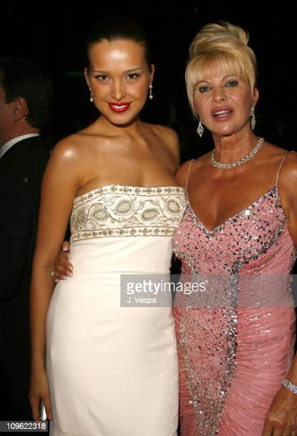 Petra Nemcova and Ivana Trump during amfAR's Cinema Against AIDS Benefit in Cannes Presented by Bold Films Palisades Pictures and The Weinstein...