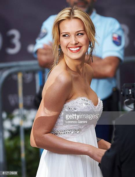 Petra Nemcova arrives at amfAR's Cinema Against AIDS 2008 benefit held at Le Moulin de Mougins during the 61st International Cannes Film Festival on...